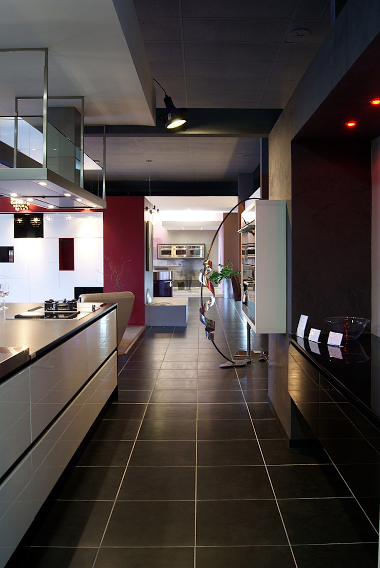 Moderne keukens van pur cuisines et interieur Modern