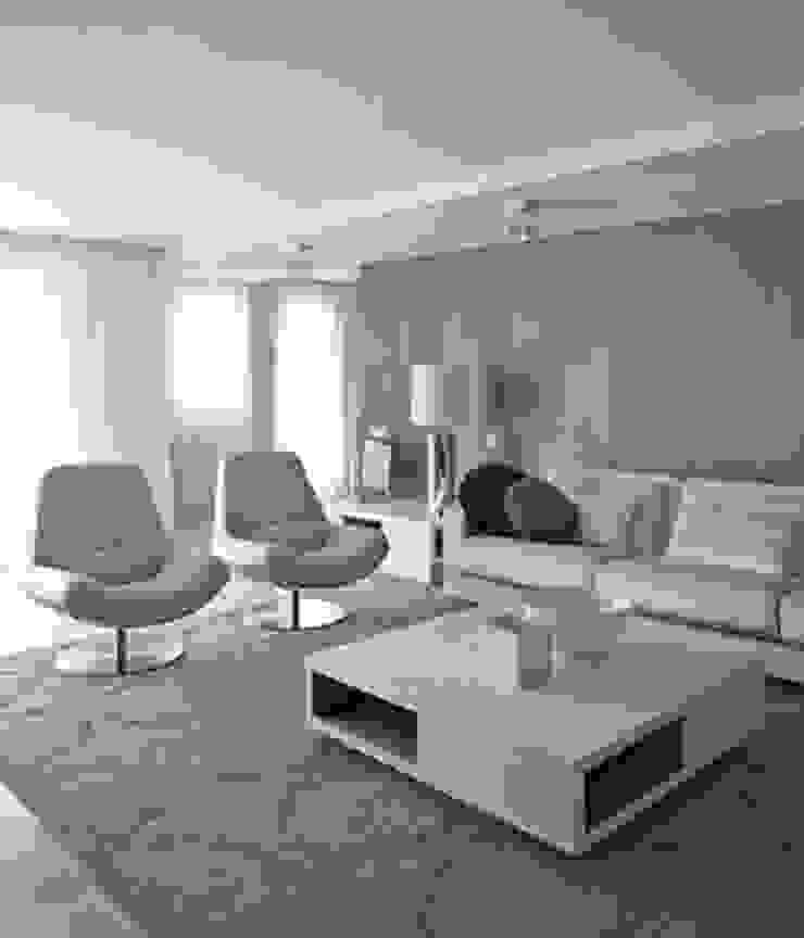 Interiorismo casa en Sitges Salones de estilo minimalista de Isa de Luca Minimalista