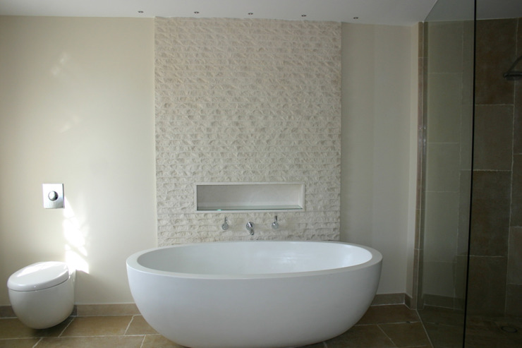 Luxury Bath France Bathroom by Rachel Angel Design