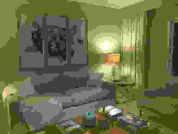 Living Area Modern living room by Rachel Angel Design Modern