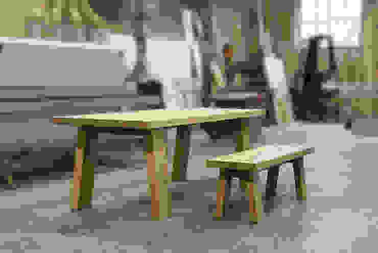 TETRIX table and bench di Frigerio Paolo & C. Moderno