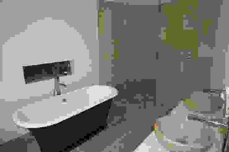 Blue Bathroom France Mediterranean style bathroom by Rachel Angel Design Mediterranean