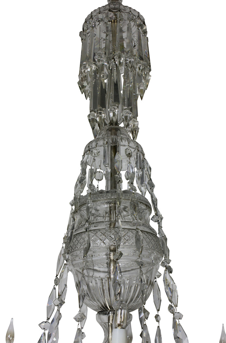 A Large Cut Glass Chandelier By Osler : classic  by Antiques, Lighting and The Interior, Classic
