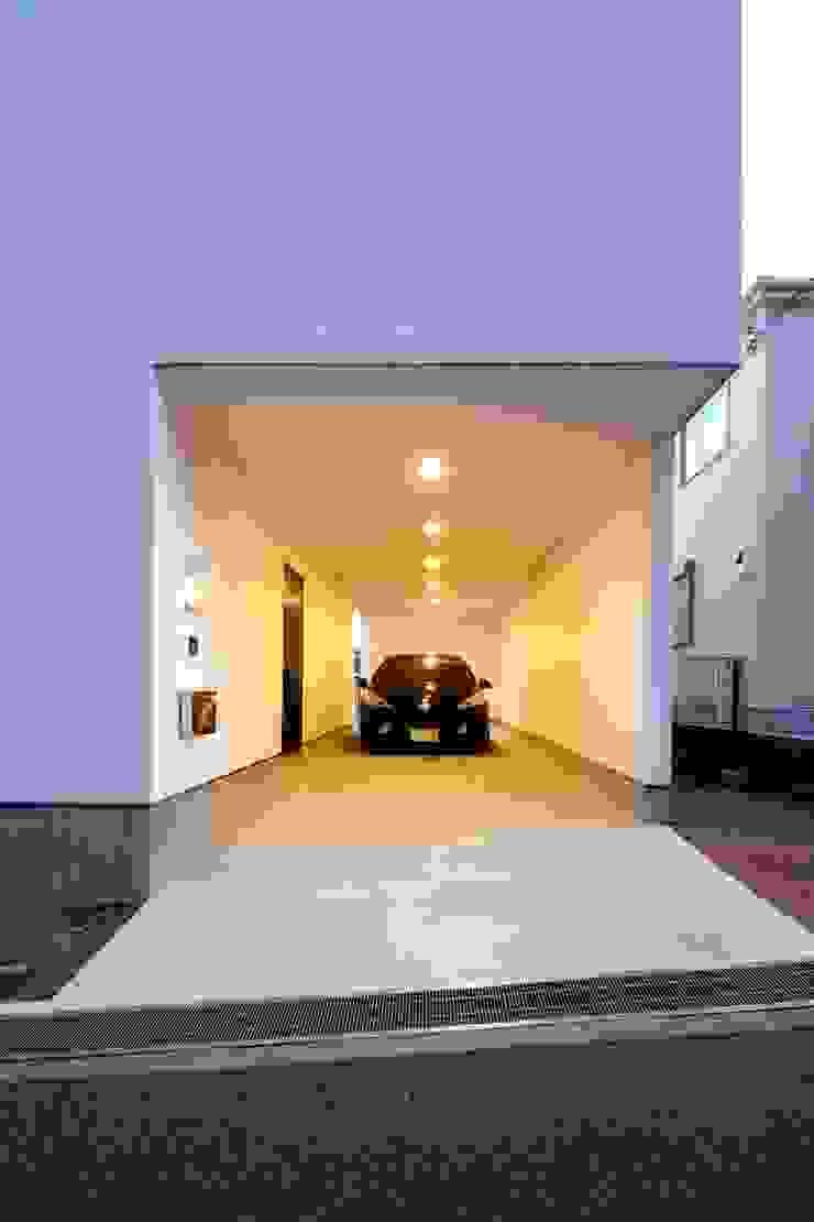 アプローチ モダンな 家 の SeijiIwamaArchitects モダン