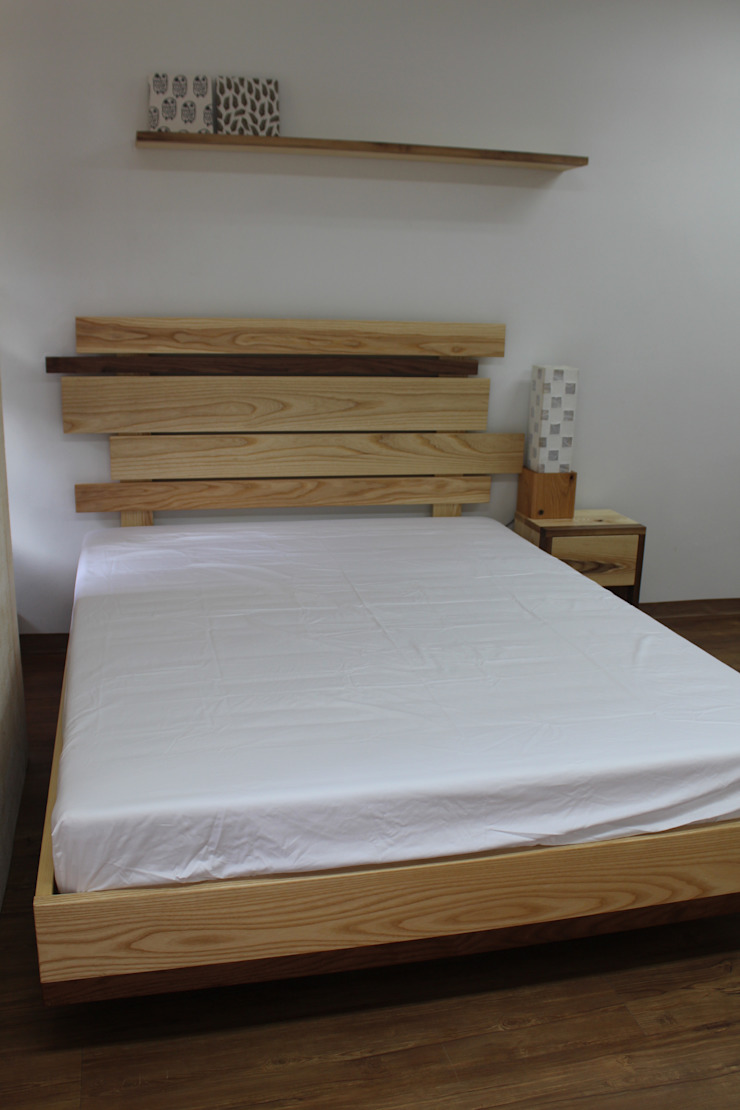 원목 침대 : woodpage3의 현대 ,모던