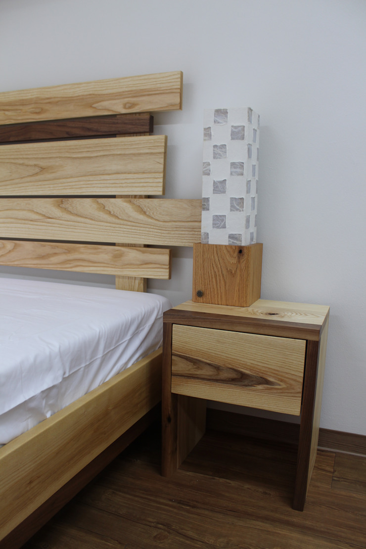원목침대세트: woodpage3의 현대 ,모던