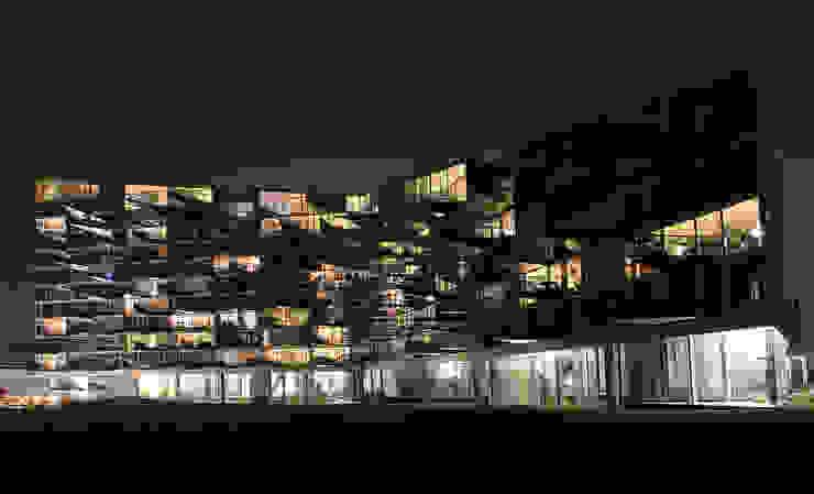 VM HOUSES Modern houses by BIG-BJARKE INGELS GROUP Modern
