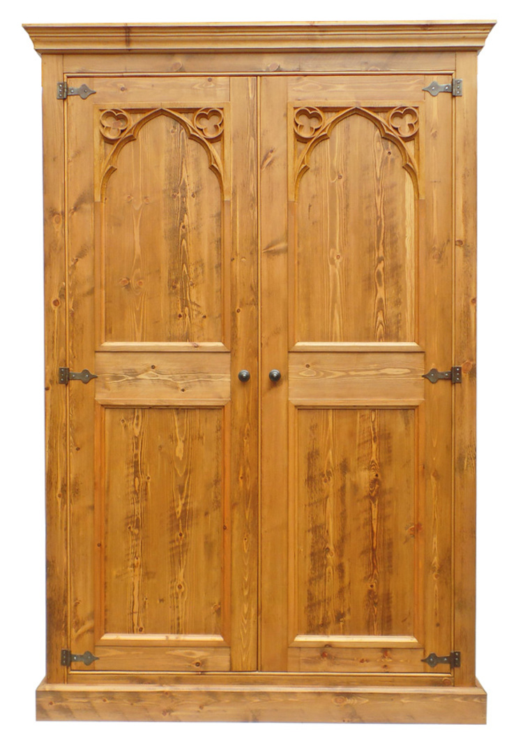 Gothic Style Pine Bedroom Furniture by Smith & Smith Designs ...