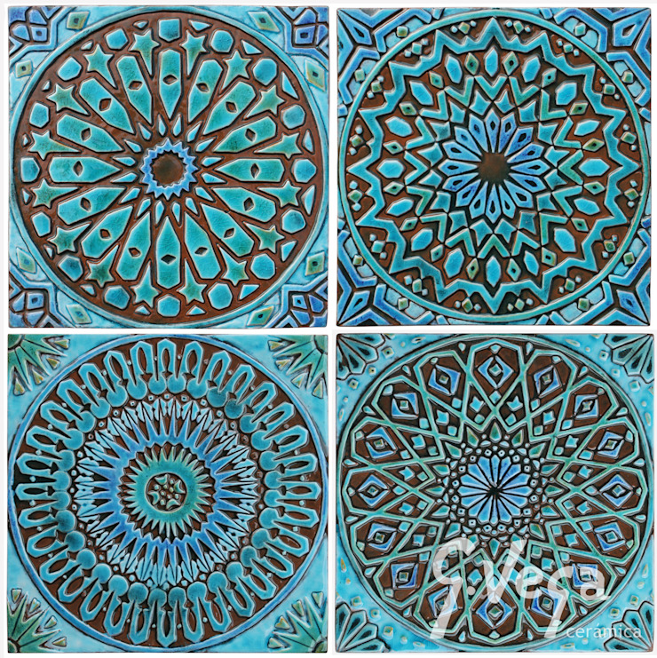 MOROCCAN WALL ART DESIGNS by Gvega Ceramica