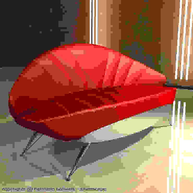 Design Sofa - Ensemble XIV: modern  von Hermann Bollwerk - Silverscape Design Pure,Modern