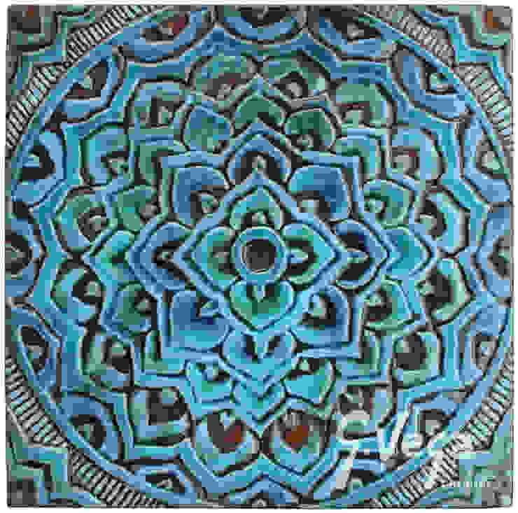 MANDALA #2 by Gvega Ceramica