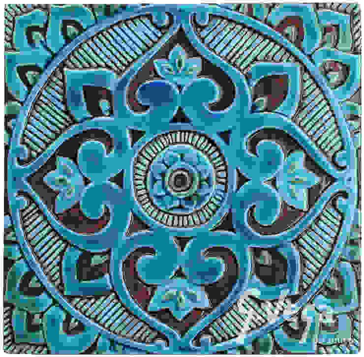 MANDALA #3 by Gvega Ceramica