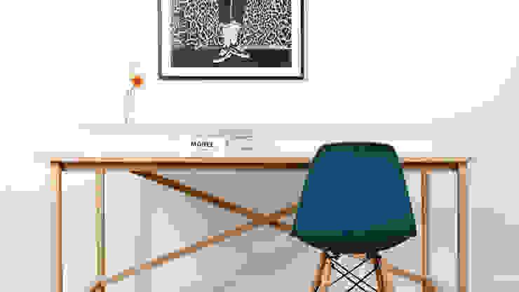 Schreibtisch EGON von Formfreund Holzmanufaktur Minimalistisch