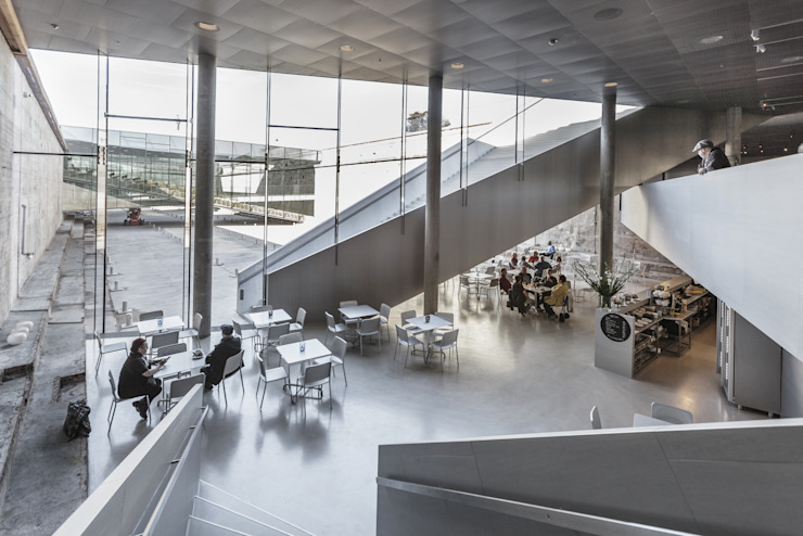 DANISH NATIONAL MARITIME MUSEUM Musei moderni di BIG-BJARKE INGELS GROUP Moderno