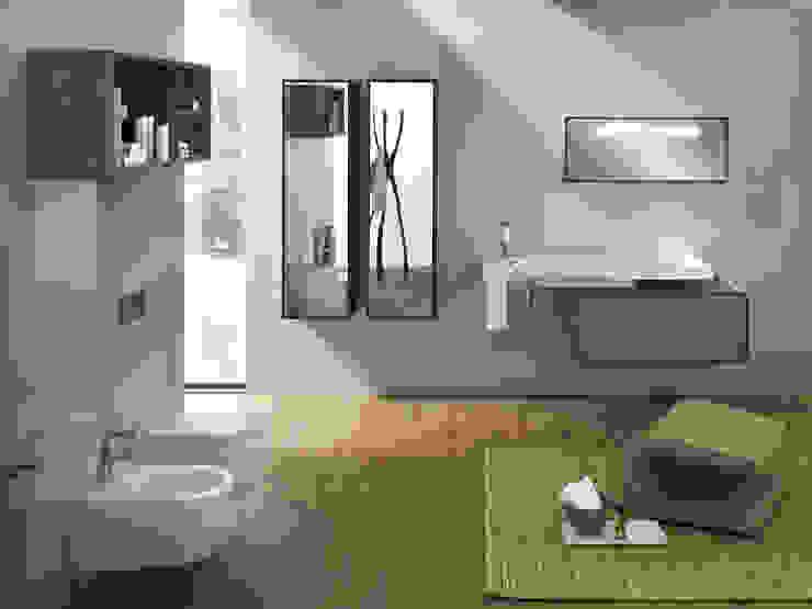 Sistema bagno Sliding Wood System di Hatria