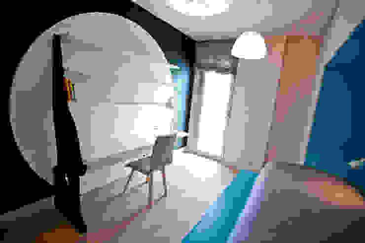 Dormitorio infantil Casas de estilo moderno de Romina Gris Moderno