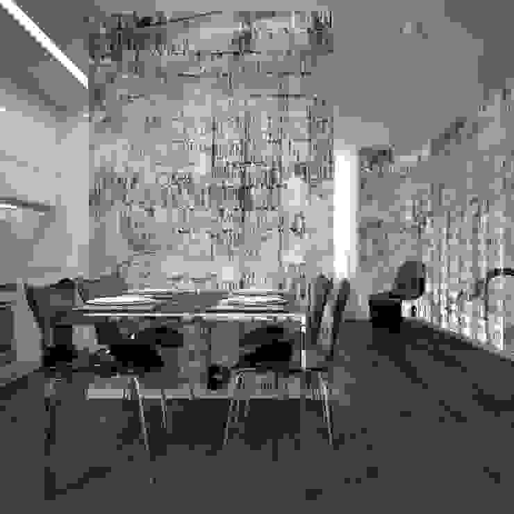 Wall Paper Milano City-cold di Pastorelli