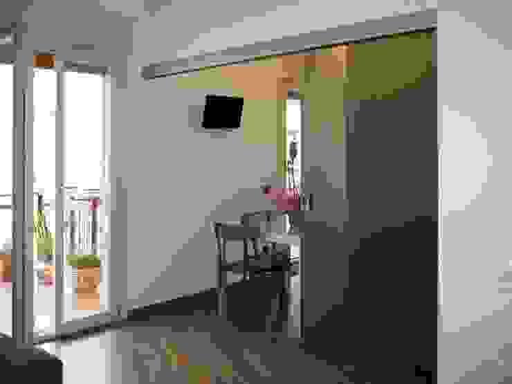 modern  door bellinvetro, Modern