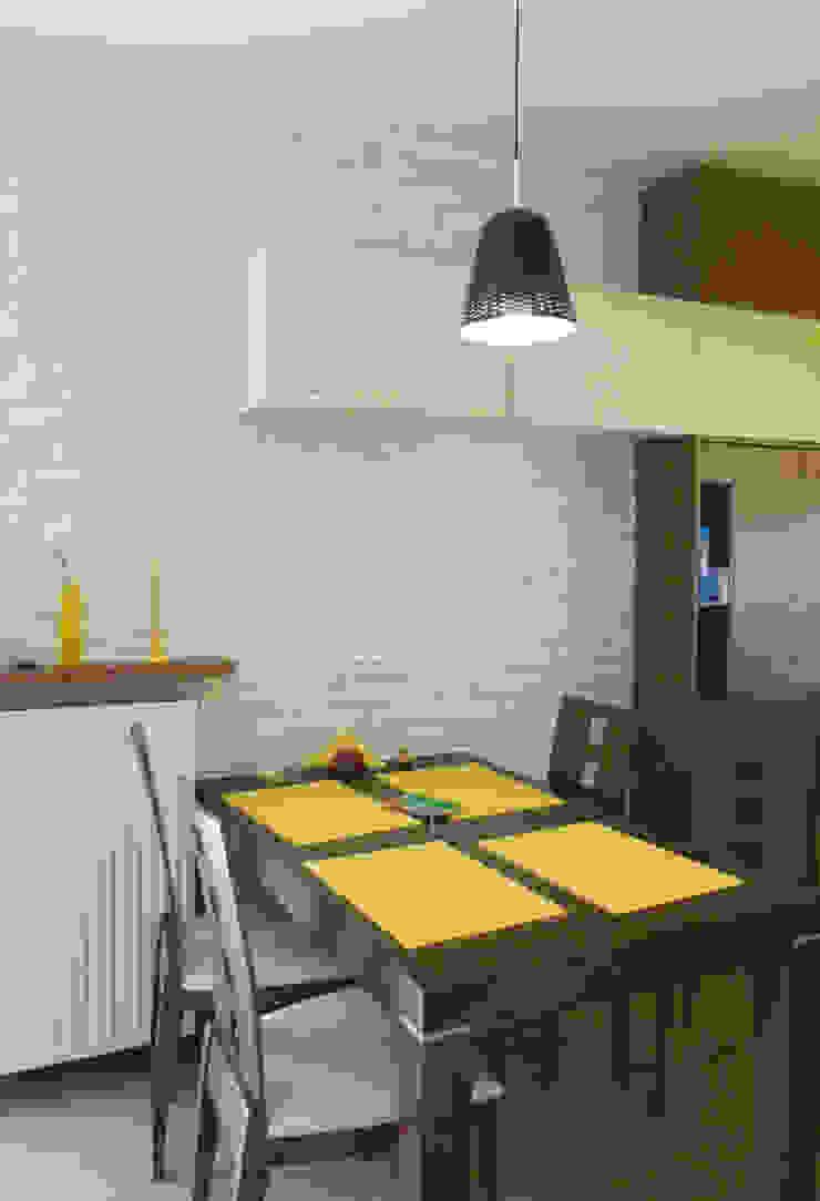 Dom dla dwojga Klasyczna jadalnia od DO DIZAJN Dorota Szczygłowska Klasyczny