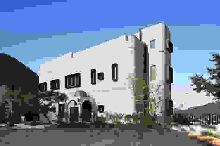 A house on the cliff Casas de estilo moderno de studio_GAON Moderno
