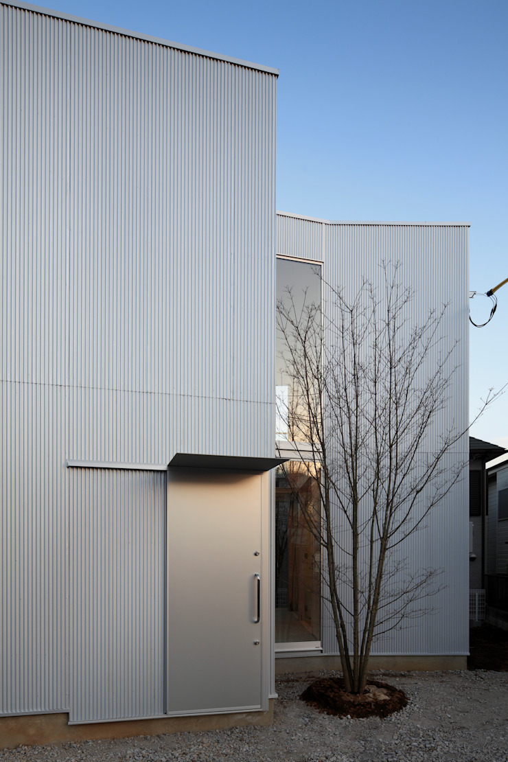 House in Kashiwa, Unfinished house ミニマルな 家 の 山﨑健太郎デザインワークショップ ミニマル