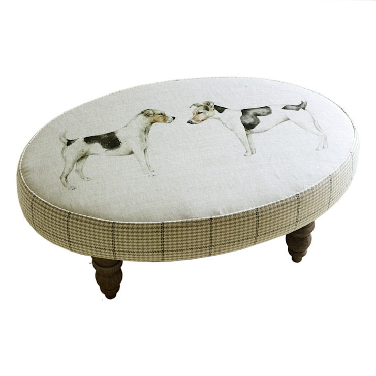 Eddie and Teddie Footstool Adventino Living roomSofas & armchairs