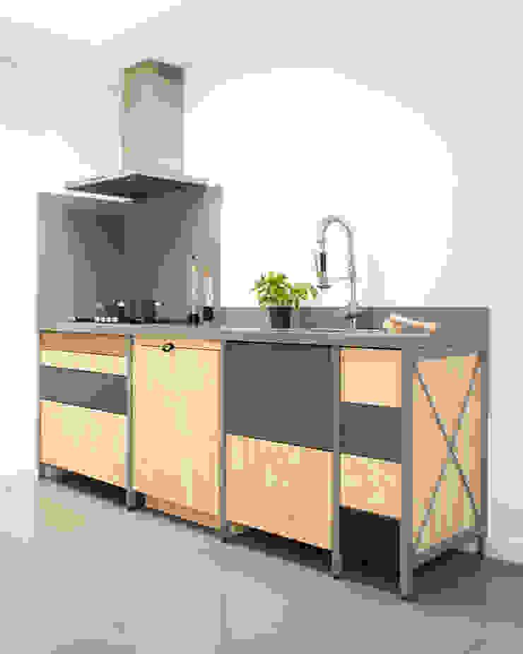 Constructieve keuken Industriële keukens van Studio Mieke Meijer Industrieel