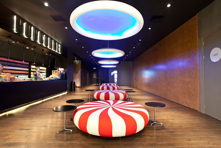 Akmerkez Cinemapink Moderne Einkaufscenter von Derin Modern
