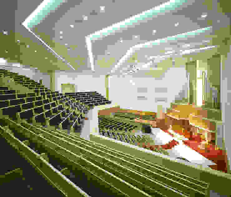 Jesus-Hope Church Rooms by 서인건축