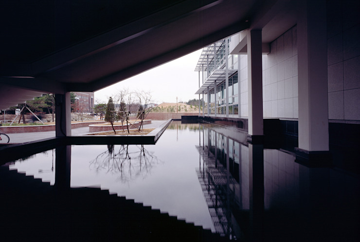Handong Global Uni. Hyoam Rooms by 서인건축