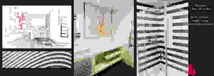 Agence Diot-Clément Modern Banyo