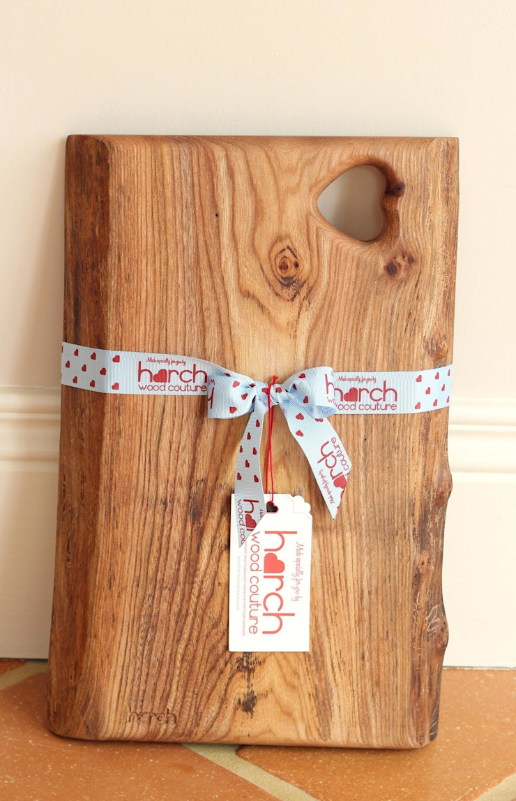 Glebe Board- Chopping and Serving Board: rustic  by Harch Wood Couture, Rustic