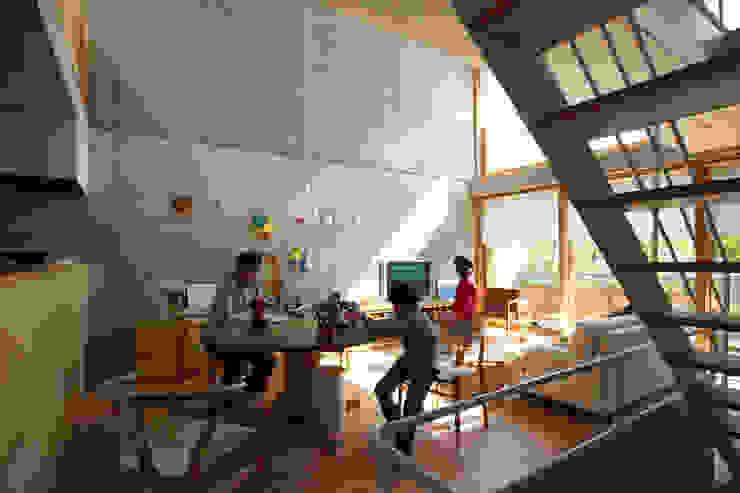 府中の住宅 オリジナルデザインの リビング の 佐藤重徳建築設計事務所 オリジナル