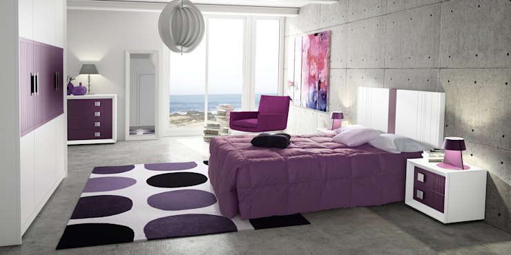 Dormitorio Alba de JIMÉNEZ VISO Moderno