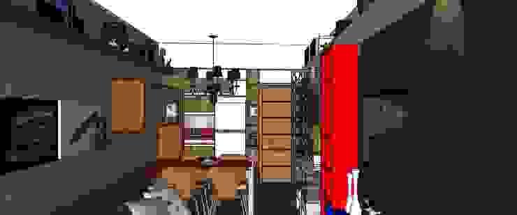 Living/Cozinha por Cristiano Carvalho Arquitetura e Design Moderno