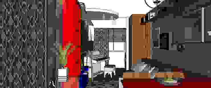 Living por Cristiano Carvalho Arquitetura e Design Moderno