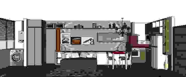 Living/Dormitório por Cristiano Carvalho Arquitetura e Design Moderno