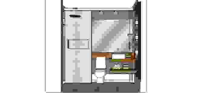Banheiro por Cristiano Carvalho Arquitetura e Design Moderno