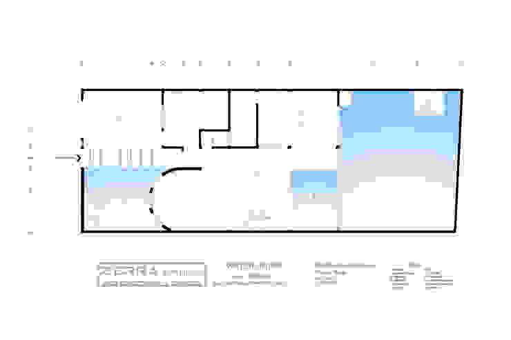 Water House de zerraestudio Minimalista