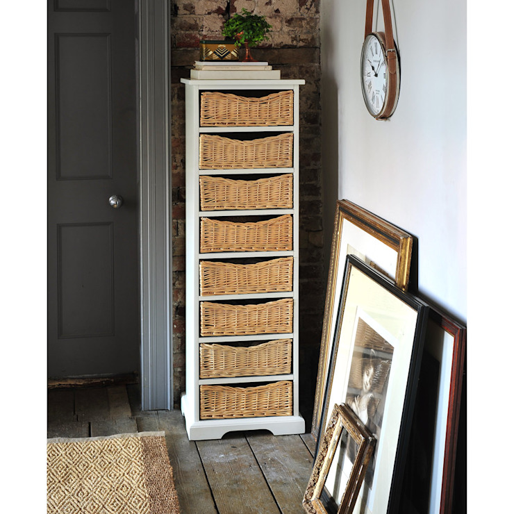 Farmhouse Ivory Tallboy de The Cotswold Company Rural
