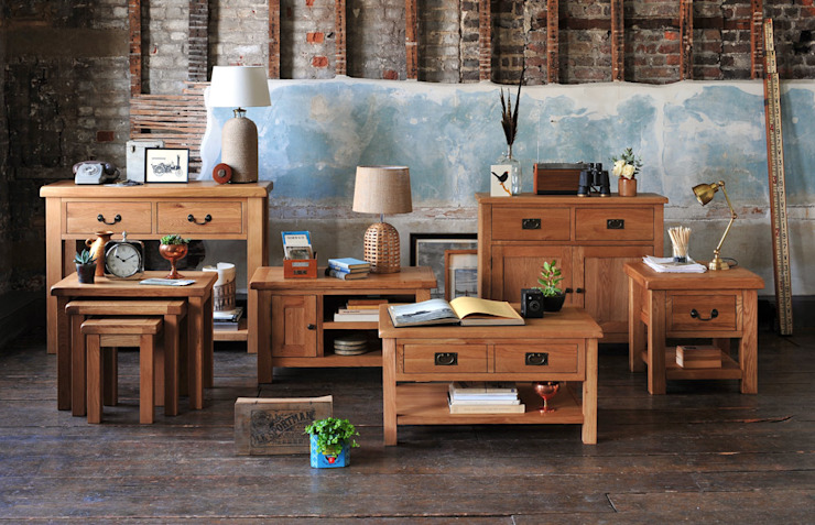 Selection of Oak Living Room Furniture by The Cotswold Company Кантрi