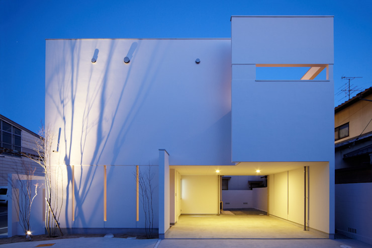 Scandinavian style houses by MITSUTOSHI OKAMOTO ARCHITECT OFFICE 岡本光利一級建築士事務所 Scandinavian