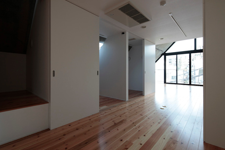AOB BUILDING: ISSHO Architectsが手掛けた現代のです。,モダン