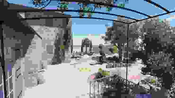 Aménagement intérieur Balcon, Veranda & Terrasse méditerranéens par INEO CONCEPT Méditerranéen