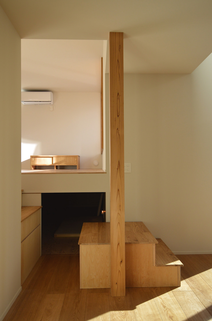 5人家族の家 モダンな 壁&床 の アトリエKUKKA一級建築士事務所/ atelier KUKKA architects モダン