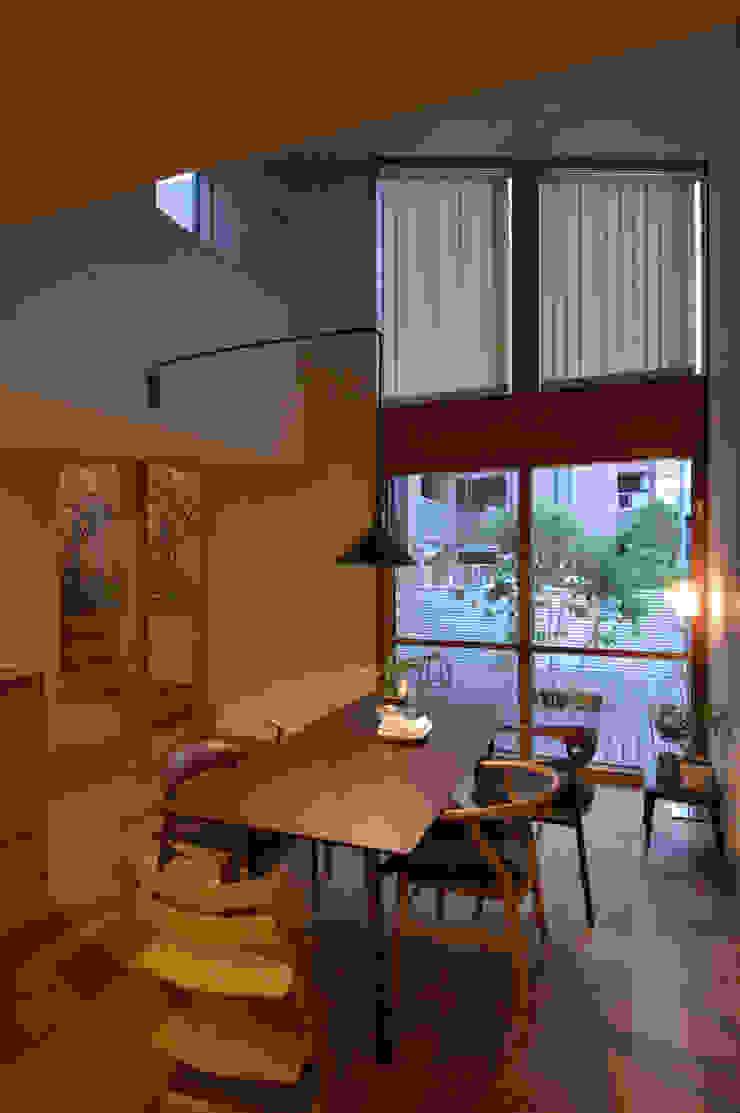 5人家族の家 モダンデザインの ダイニング の アトリエKUKKA一級建築士事務所/ atelier KUKKA architects モダン