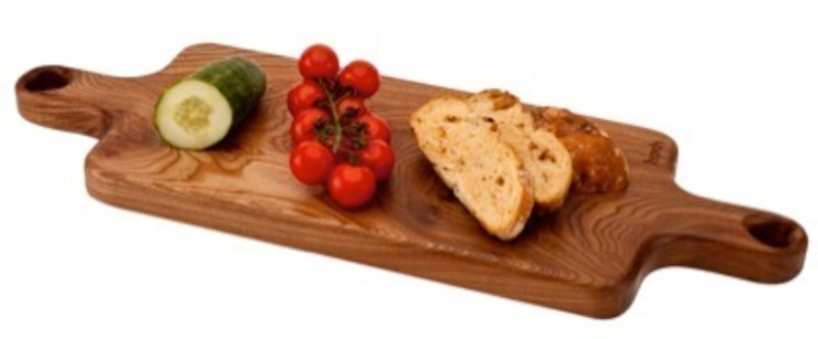 Harch Duo Handle Board- Chopping and Serving Board: eclectic  by Harch Wood Couture, Eclectic