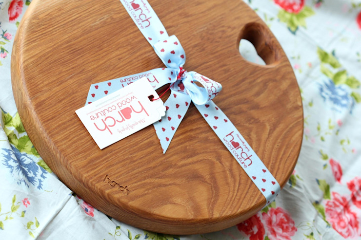 Harch Drum Board- Chopping and Serving Board Harch Wood Couture CucinaUtensili da cucina