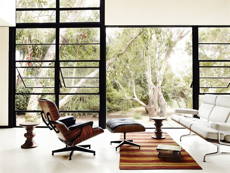 Eames Lounge Chair & Ottoman par Herman Miller