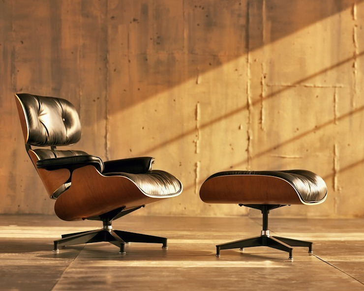 Eames Lounge Chair & Ottoman Herman Miller